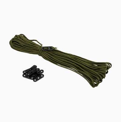 PARACORD 30M/ 10BUCKLES GREEN