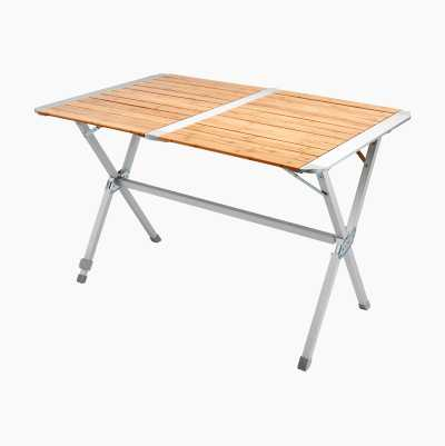 FOLDABLE TABLE BAMBOO, 110X72X