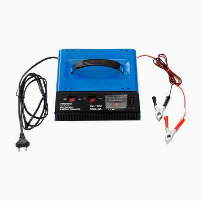 BATTERY CHARGER 6/12 VOLT