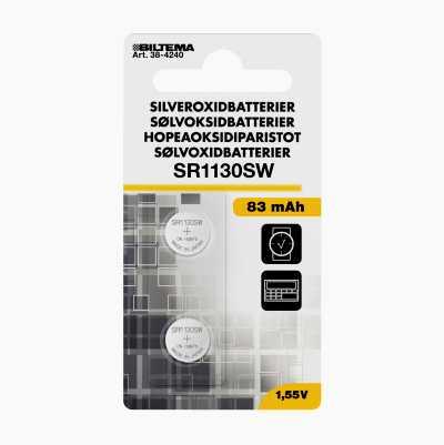SILVEROXIDBATTERIER 1,5 V SR54