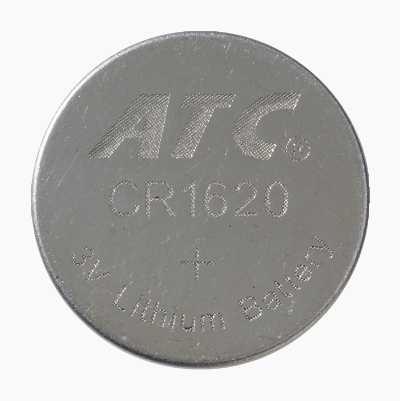 LITHIUMBATTERI CR1620 3V