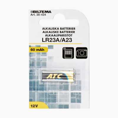 ALKALISKA BATTERIER LR23A 12V