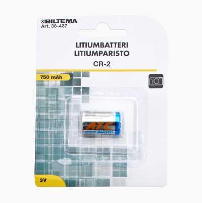 LITHIUMBATTERI 3V CR2