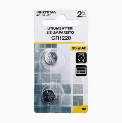 CR 1220 12,5X2,0MM 35MAH 3V LI