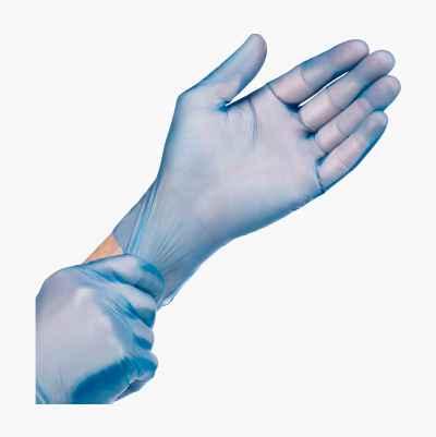 ECO VINYLGLOVE BLUE XLARGE
