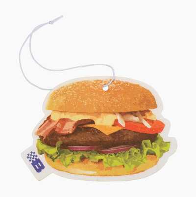BURGER PAPER AIR FRESHNER