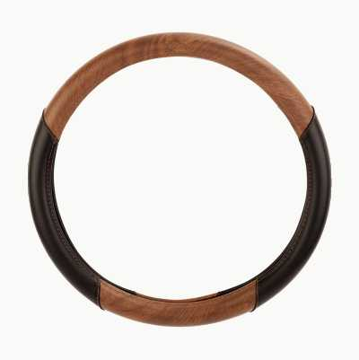 STEERING WHEEL COVER WOOD