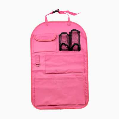 BACKSEAT ORGANIZER PINK