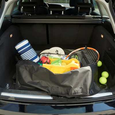 CAR BOOT LINER AND BAG