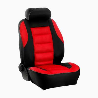 SEAT COVER MONACO RED