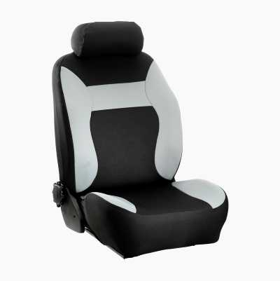 SEAT COVER MONZA GREY