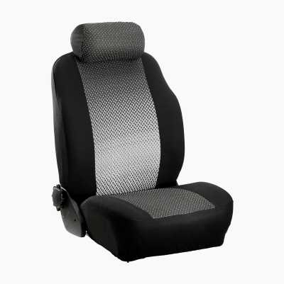 SEAT COVER GALANT BLACK/GREY