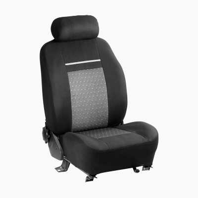 SEAT COVER BLACK/GREY