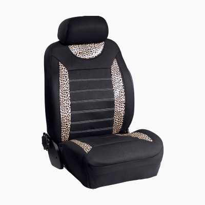 SEAT COVER LEOPARD
