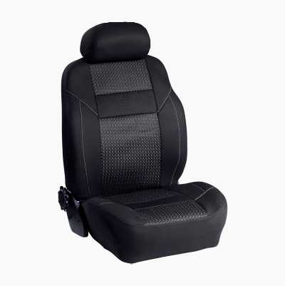 SEAT COVER BLACK SINGLE