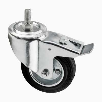 SWIVEL WHEEL RUBBER 100mm M12