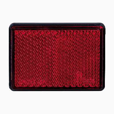 REFLEX RECTANGULA RED 2PCS