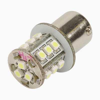 LED LAMP 24V BA15S WHITE 21W