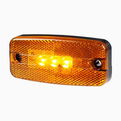 LED SIDE MARKER AMBER