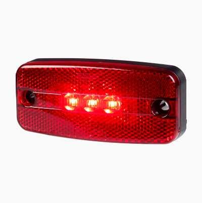 LED SIDE MARKER RED