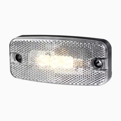 LED SIDE MARKER WHITE