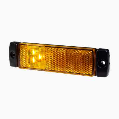 LED SIDE MARKER REFLEX AMBER