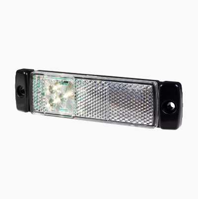 LED SIDE MARKER REFLEX WHITE