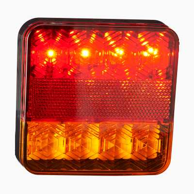 LED REAR LIGHT SQUARE