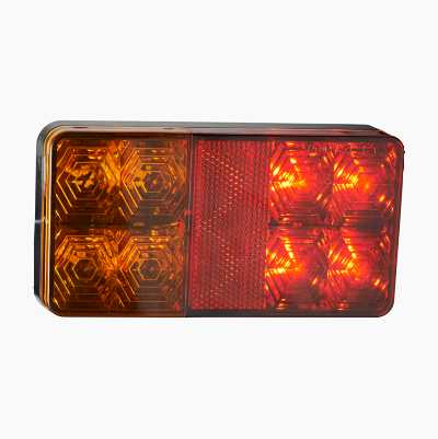 LED REAR LIGHT RECTANGULAR