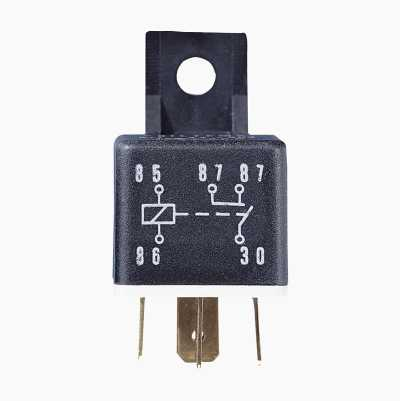 SHUTTING RELAY DOUBLE CON 30A