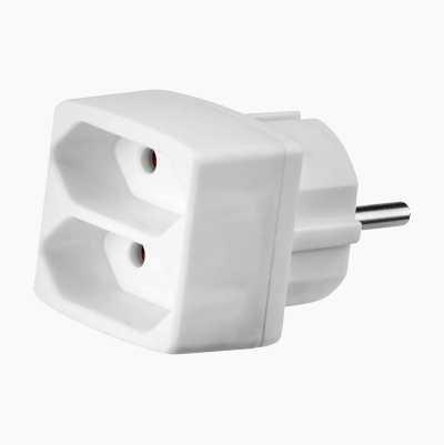ADAPTER 2-WAY EURO