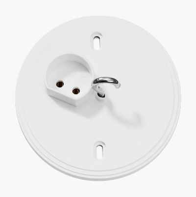 LAMP OUTLET WALL MOUNTED EARTH