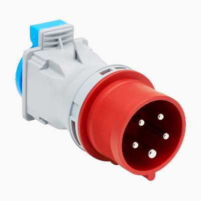 ADAPTER 3-FASE 16 A CEE TIL 1-