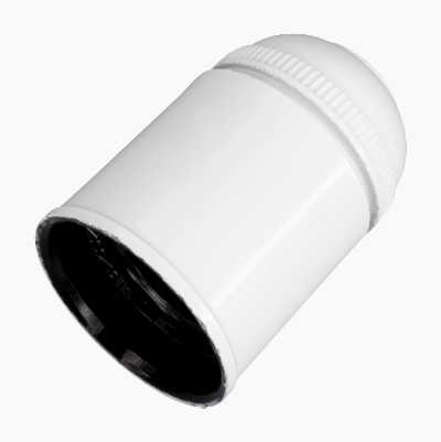 LAMPSOCKET E27 WHITE