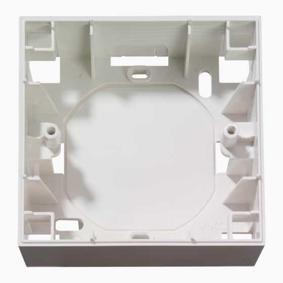 DESIGN SURFACE MONT BOX WHITE