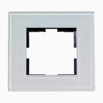 DESIGN SINGLE GLAS FRAME WHITE