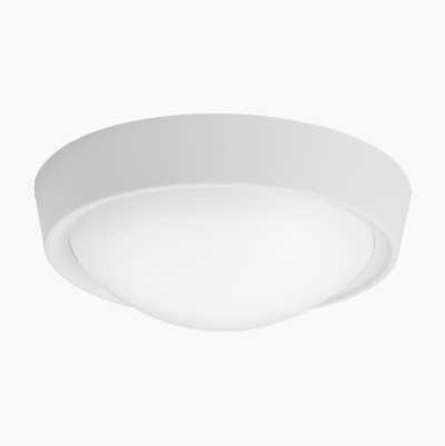 PLASTIC ROOF LAMP E27