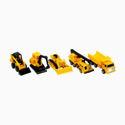 CONSTRUCTION DIECAST 5-PACK