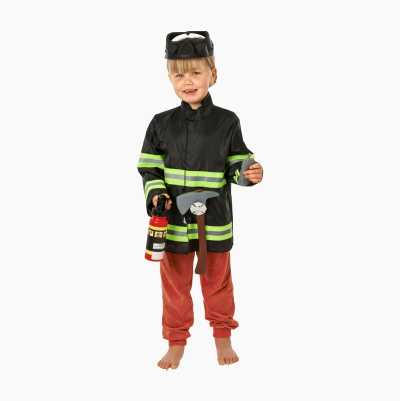 FIRE FIGHTER COSTUME KIDS
