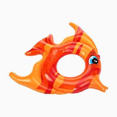 INFLATABLE FISH SWIM RING