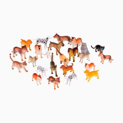 24PCS CATS & DOGS