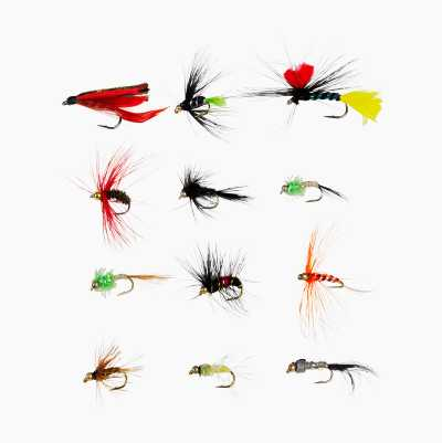 FLYFISHING LURE 12 PCS