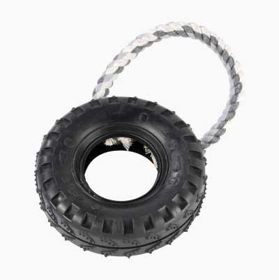 RUBBERTIRE WITH ROPE