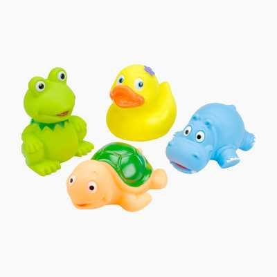BATH TOYS 4-PACK