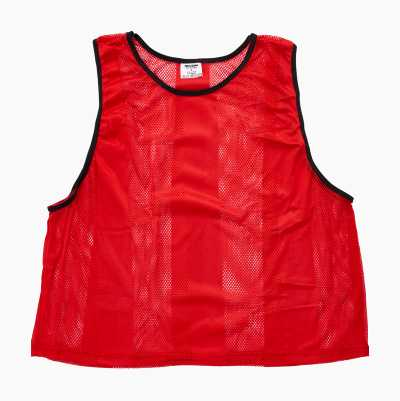 STRIPED MESH VESTS LARGE YELLO