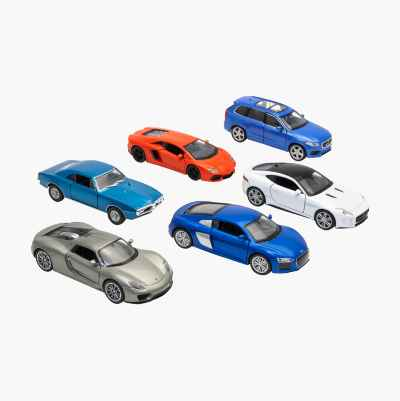 DIECAST CARS 1:38 ASSORTED MOD