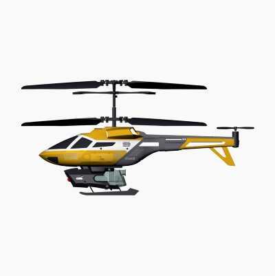 RC IR Helikopter Splash