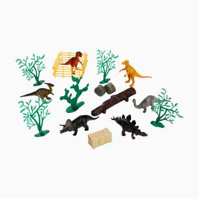 DINOSAUR ANIMAL MINI 17PCS