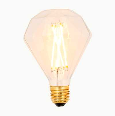 VINTAGE-LAMPPU DIAMANT E27, HI
