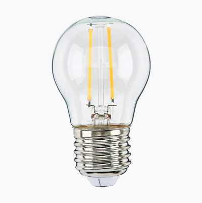 250LM LED FILAMENT MINIGLOBE E